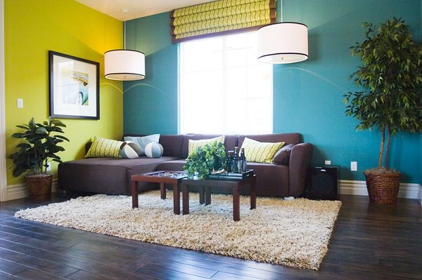 Modern casual living room