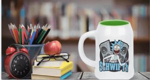 Rick and Morty Get Schwifty - ceramiczny kufel